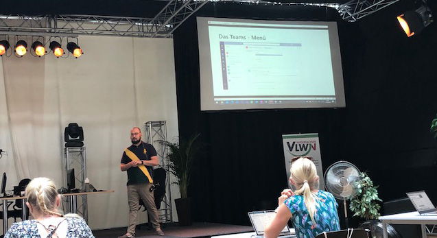 """VLWN-Digital-Summercamp – Tag zwei Lernszenarien und ganz viel """"Teams"""""""